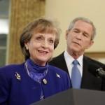 Harriet E. Miers gets reprieve/white house photo