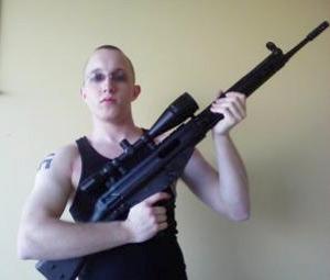 Daniel Cowart/suspect in alleged Obama plot