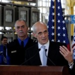 Sec. Michael Chertoff At Press Conference/dhs photo