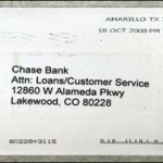 Envelope Of A Threatening Letter/fbi photo