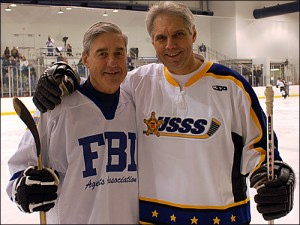 Mueller (left) and Sullivan