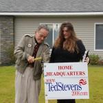Ex-Sen. Ted Stevens before his defeat