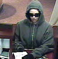 Bank robber-Auburn, Mass. Dec. 2008