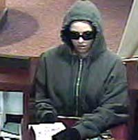 Bank robber-Auburn, Mass. Dec. 2008