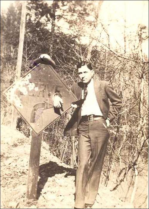 Clyde Barrow/fbi photo