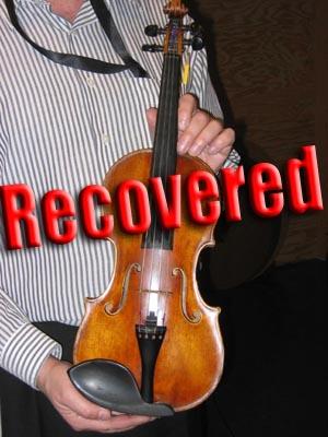 Carlo Tononi Violin/ lapd photo