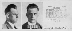 John Dillinger/fbi photo