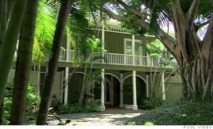 Madoff's Palm Beach home/pool photo