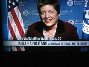 Janet Napolitano/bill maher show