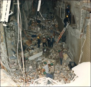 Aftermath of the World Trade Center/fbi photo
