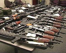 File photo of guns, via ATF