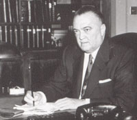"Would J. Edgar Hoover Have Bought a bottle of ""Integrity""?/fbi photo"