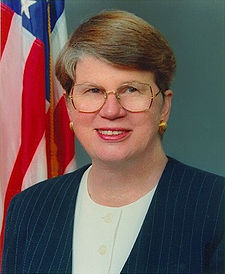Former Attorney General Janet Reno.