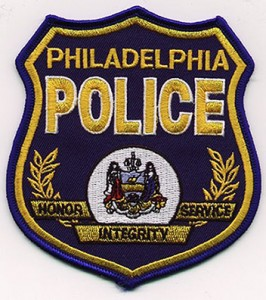 philly police badge