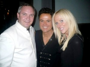 The Salahis With Donny Osmond in LA/facebook photo