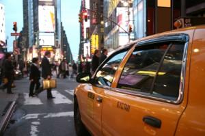 new york city3 cabs