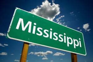 Mississippi Road Sign