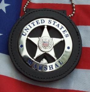 u..s. marhsal badge