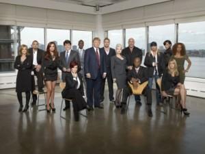 Ex-Gov Blago poses with Celebrity Apprentice group