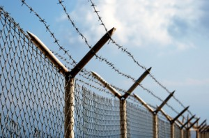border fence photo