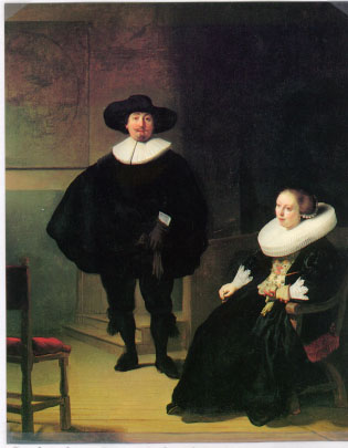 One of the Rembrandt Pieces Stolen