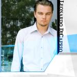 Leonardo DiCaprio/photo from his website