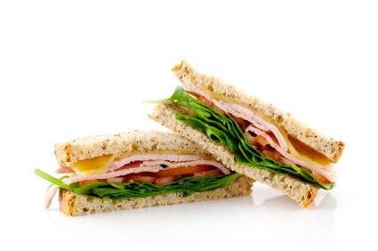 (not actual sandwich)