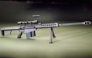 50 caliber barrett rifle