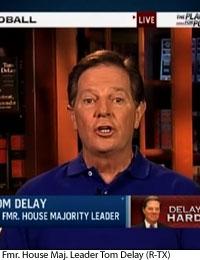 Ex-Rep. Tom DeLay