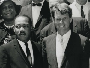 Atty. Gen. Robert Kennedy With Martin Luther King Jr. Photo via DOJ.
