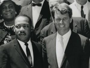 Atty. Gen. Robert Kennedy With Martin Luther King Jr. Photo via DOJ.
