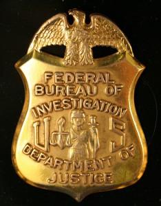 fbi badge