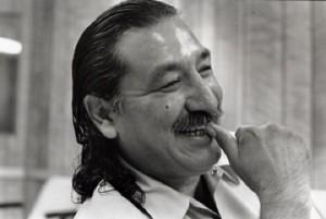 Leonard Peltier/photo from his website