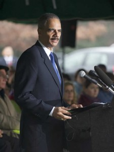 Eric Holder, U.S. attorney general from 2009 to 2015.