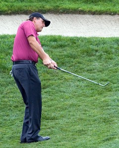 Golfer Phil Mickelson