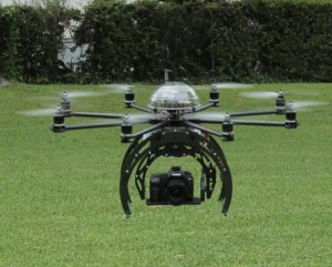 An example of a consumer-grade drone.