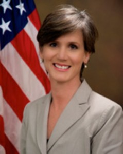 U.S. Attorney Sally Yates