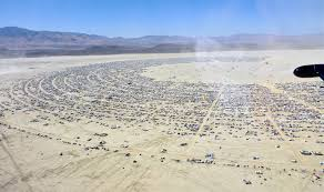 Burning Man festival/via Wikipedia