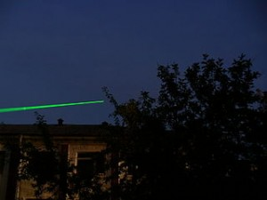 Light from a Laser pointer via Wikipedia
