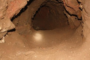 Latest cross-border tunnel discovered by authorities. All photos by Border Patrol.