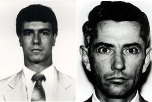 FBI agents Jerry L. Dove (left) and Benjamin P. Grogan were killed.