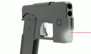 Gun designed to look like a smartphone.