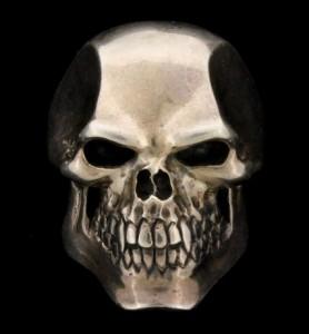 "James ""Whitey"" Bulger's ""Psycho Killer Skull"" ring was for sale at the auction."