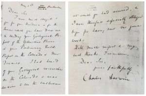 Stolen Charles Darwin letter is returned to the Smithsonian.