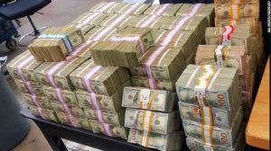 Border Patrol found $3 million in cash stuffed in a trunk, via Border Patrol.