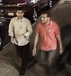 The FBI is searching for these two men.