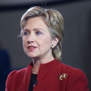 Hillary Clinton, via Wikipedia.