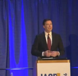 Director James Comey in San Diego