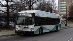 An MTA bus