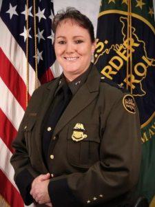 Border Patrol Deputy Assistant Carla Provost.